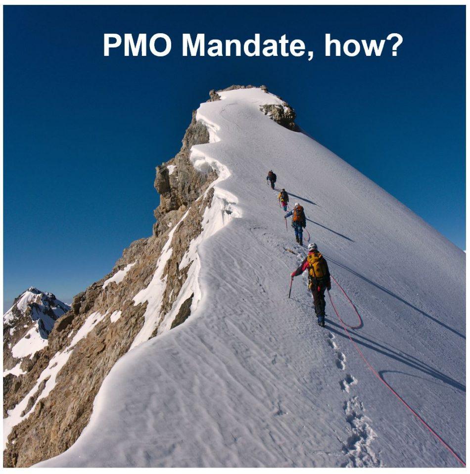 Et stærkt PMO-mandat